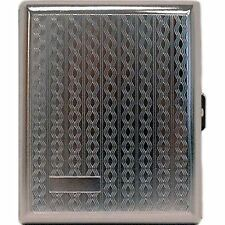 Metal Cigarette Case -Kings or 100's Braids