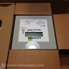 LEVITON 2N480-041 INDOOR THREE PHASE ELEMENT METER FNOB
