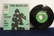 The Beatles, Lady Madonna / The Inner Light, Odeon Records O 23 733,1968 Germany