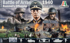 Battle Of Arras 1940 Rommel 's Offensive Diorama Set 1:72 Model Kit Italeri 6118