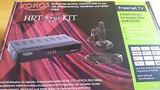 Xoro DVB-T2 HD Receiver HRT 8730 KIT *  * wie Neu *