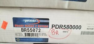 New Sealed Pair of Two(2) Disc Brake Rotors Rear Pronto BR55072 - Free Shipping!