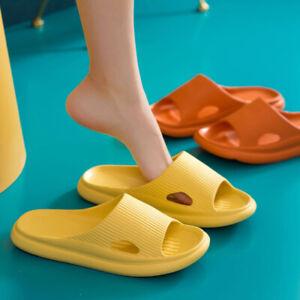 1 Pair Indoor Shower Bath Slippers Non-Slip Bathroom Sandals Shoes Women SH