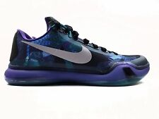 NEW NIKE KOBE X OVERCOME MEN'S SHOE SIZE 11 EMRLD GLOW/SILVER/CRT PPL 705317-305