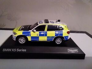 Code 3 BMW X5 roads policing unit Cheshire police 1/43