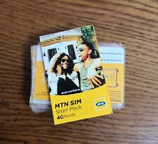 NEW! Active Nigerian SIM card Nigeria MTN operator micro/regular/micro Internet