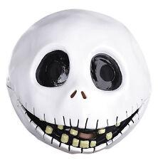 Jack Skellington Full Face Vinyl Mask for Costume