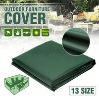 Garden Patio Furniture Cover Seat Waterproof Patio Rattan Cube Table