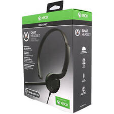 NEW ~ Genuine PowerA Official Xbox OneS Chat Headset Gaming Microphone Control