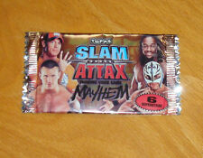 Booster / Paquet de cartes Slam Attax Mayhem (catch) 6 cartes dans le paquet