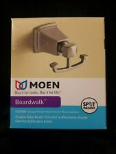 Moen Boardwalk Double Robe Hook Y3203BN