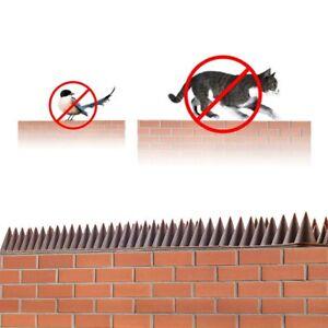 4.4m Fence Wall Spikes Set Intruder Cat Bird Repeller Repellent Walls Gates Shed