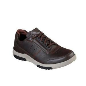 Skechers BELLRINGER 2.0 REGRAN Mens Brown 66140 Mid High Top Comfort Shoes