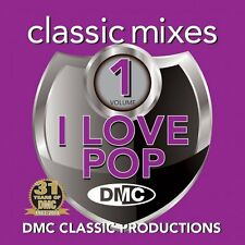 DMC Classic Mixes - I LOVE POP Vol 1 DJ CD Mixed Megamixes ft Whitney Houston