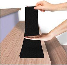 11 Pcs Non Slip Outdoor Stair Treads Waterproof Black Safety Anti Slip Tape 7x30