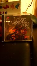 RARE SONY PS1 GAME LOST VIKINGS 2 NORSE BY NORSEWEST NICE CONDITION PS2 PSONE