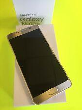 New Samsung Galaxy Note5 Note 5 SM-N920 32GB Gold Platinum Unlocked Smartphone