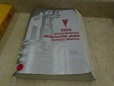 Pontiac Grand AM Used Service Manual VP 1985 VP-CM61