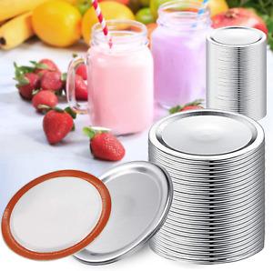 120 Pcs Regular Mouth Canning Lids For Mason Jar Lids Split-type Lids Leak Proof