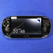 b783 Sony PS Vita PCH-1100 console Crystal Black Japan * Express