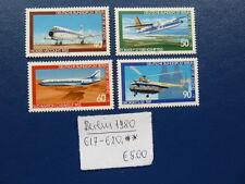 Berlin 1980, Jugend: Luftfahrt, Michel 617 - 620, **