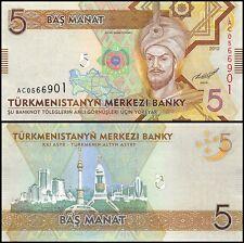 Turkmenistan 5 Manat Banknote, 2012, P-30, UNC