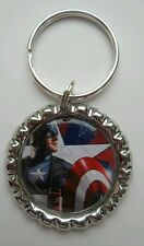 Captain America Marvel Key Ring Charm
