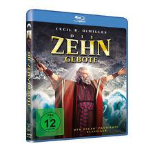 Blu-ray * DIE ZEHN GEBOTE - Charlton Heston - Die 10 Gebote # NEU OVP +