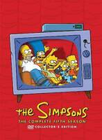 The Simpsons: Complete Fifth Season DVD Collector's Edition 4-Disc BRAND NEW!