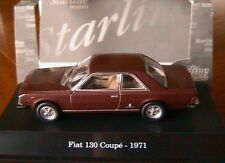 Fiat 130 Coupe' 1971 Amarant Red 1 43 Model Starline Models
