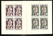 FRANCE # B409a RED CROSS & IVORY CARVINGS 1967