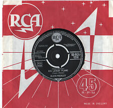 "Elvis Presley - His Latest Flame 7"" Single 1961"
