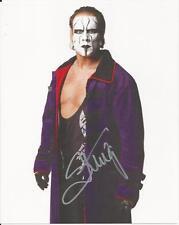 Sting - Wrestling signed photo