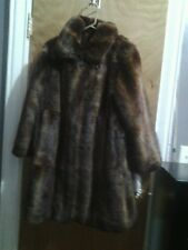 TERRY LEWIS CLASSIC LUXURIES FUR COAT SIZE M