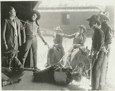 "TOM MIX 1920 ""The Texan"" Movie Publicity Still b/w"