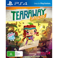 Tearaway Unfolded PS4 Playstation 4 Game - Disc Only