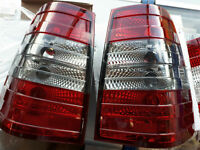 Mercedes Benz W124 S124 W124T Wagon 5D rear taillight RED SMOKE lamp E class AMG