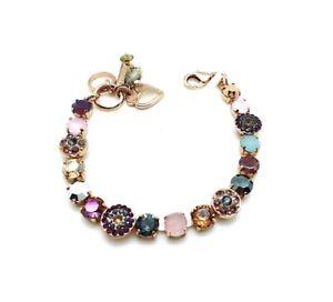 Mariana Bracelet Beautiful Grey, Purple,Light Blue,Rose, Gold & Honey  Swarov...