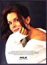 1995 1995 Actress Nastassja Kinski photo MILK Mustache promo print ad