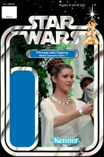 Star Wars Princess Leia Medal Ceremony Action Figure Card Back