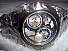 RENATO GENERATION  8 BEAST DUAL TIME  BLACK/SLIVER LIMITED EDITION NEW!