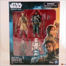 "Star Wars - Rogue One Jedha Revolt 3.75"" action figure 4-pack Jyn, Saw Gerrera +"