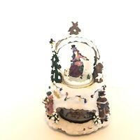 Holiday Collection Animated Musical, We Wish You A Merry Christmas, Ceramic