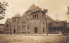 Pennsylvania Pa Real Photo RPPC Postcard 1912 JOHNSTOWN New Church Building