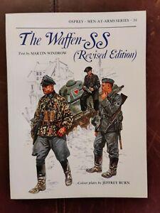 The Waffen-SS Rev. Edition Martin Windrow, Jeffrey Burn, 1982 Osprey Men-At-Arms