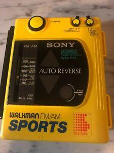 Vintage Sony Walkman WM-F73 FM/AM Sports Radio Cassette Player