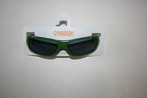 New Gymboree Boys 2-4 year Dark Green Olive Plastic Sunglasses Summer Shades