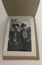 3 Vintage Photos Of People Black And White Old Ladies In hats