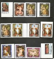 Ajman / Paintings . Imperforated. MNH