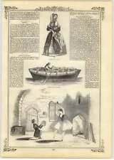 1844 King Of Sweden, Sir Henry Halford, Highland Dancers Tayemouth Castle